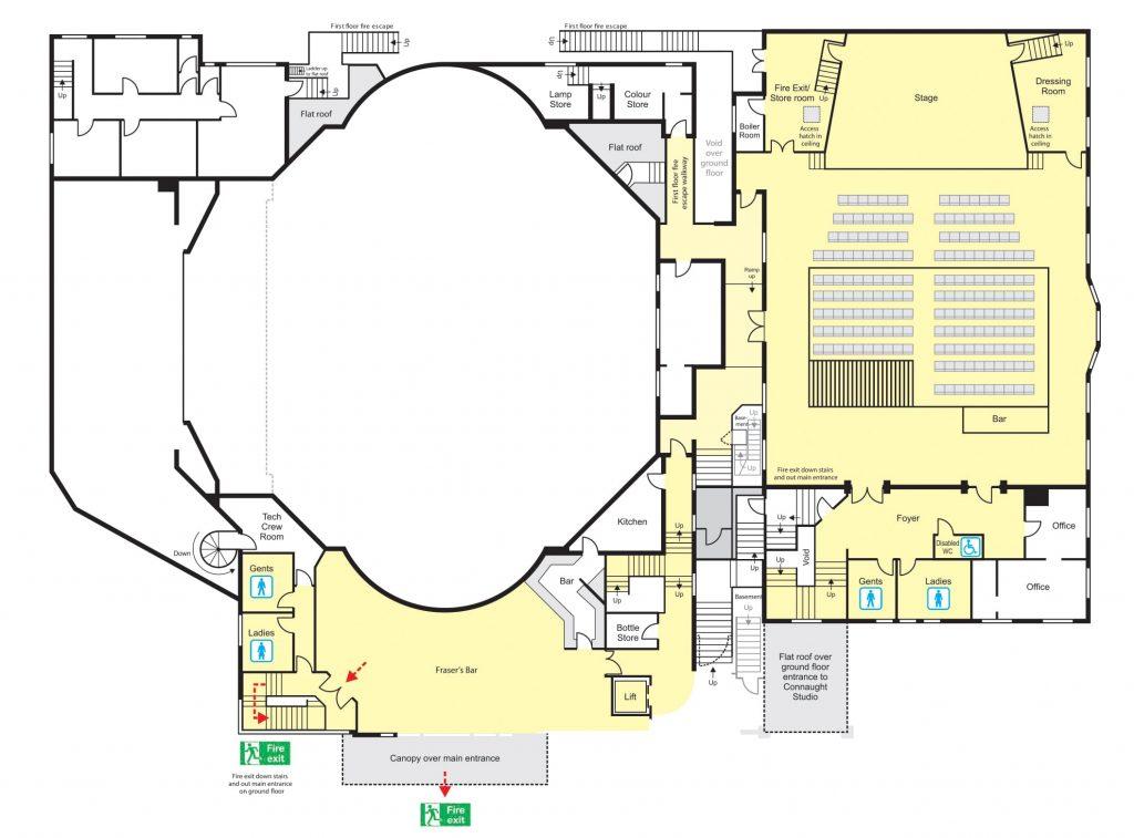 Connaught Studio - Floor Plans