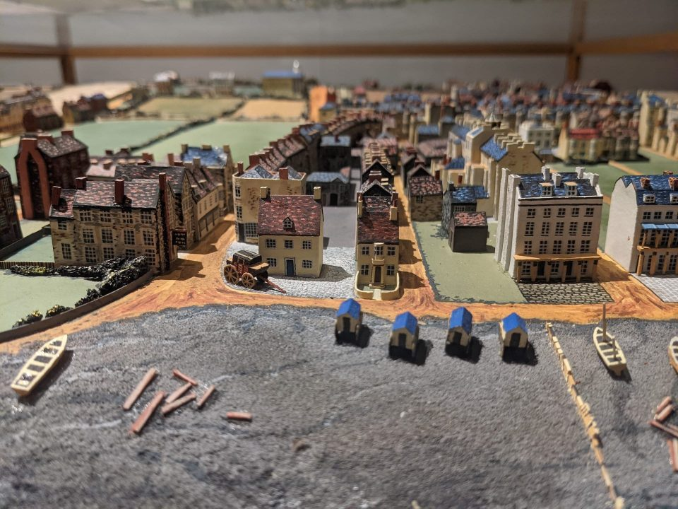 Diorama of Worthing in 1815