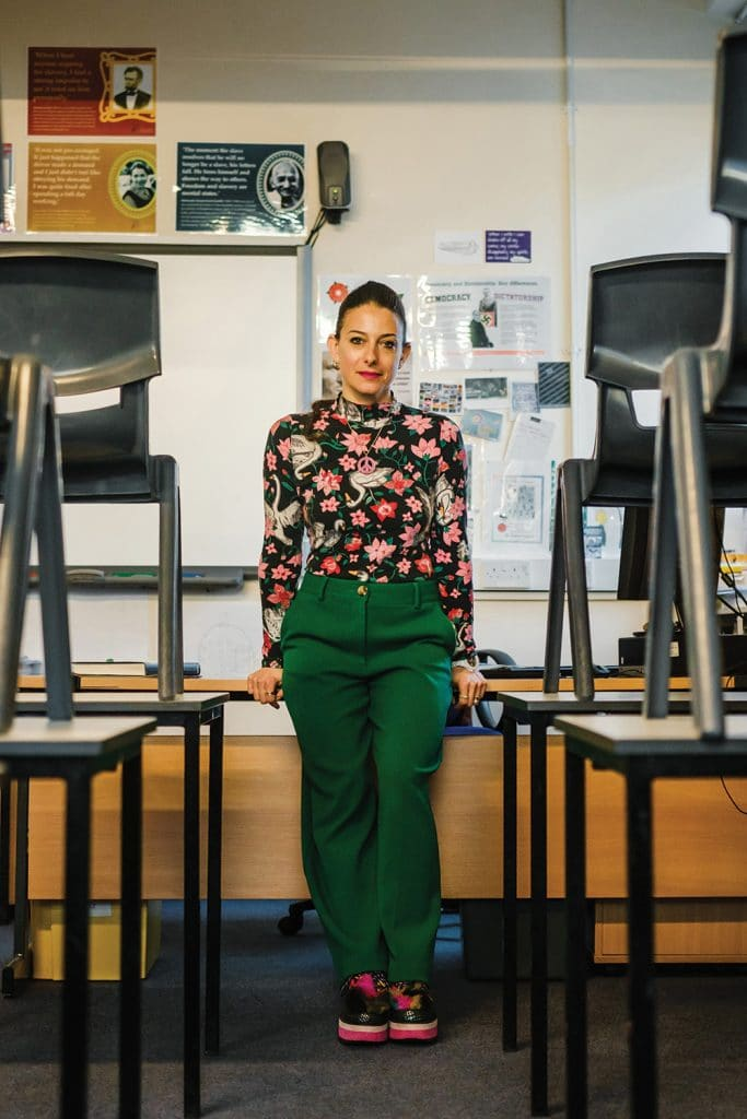 Zoe - The Teacher © Anja Poehlmann