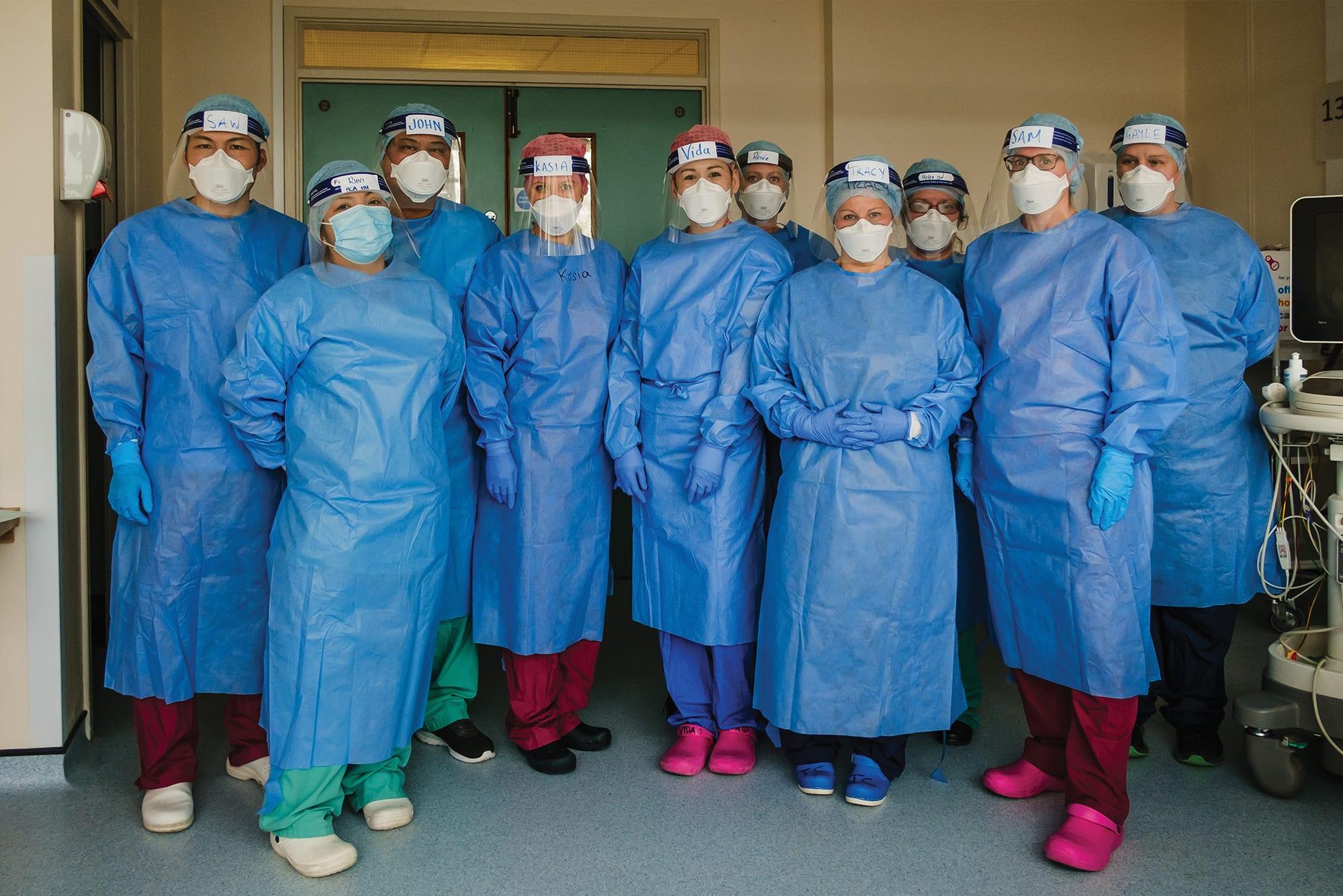 ICU Team © Anja Poehlmann