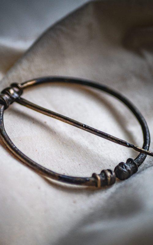7th century Penannular brooch from Highdown Hill