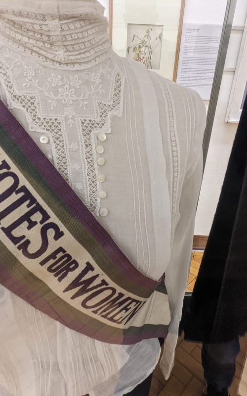 Suffragette movement materials